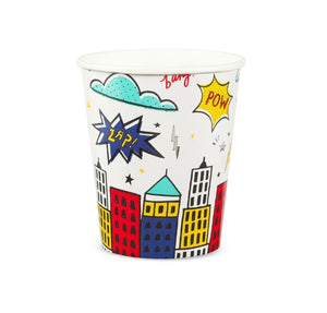 superhero party decorations birthday party cups