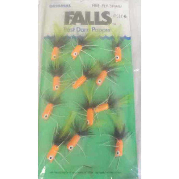 Betts Falls Fly Fluorescent Orange Size 10