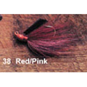 Arkie 1-4 Bucktail 6-cd Red w-Pink