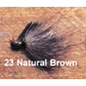 Arkie 1-8 Bucktail 6-cd Natural Brown