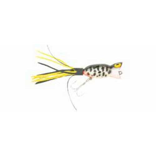 Arbogast Hula Popper 5-8 Coach Dog Orange Belly