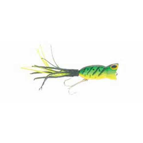 Arbogast Hula Popper 5-8 Fire Tiger