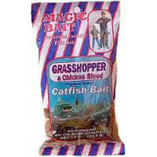Magic Bait Grasshopper-Chicken Blood Bait 10oz