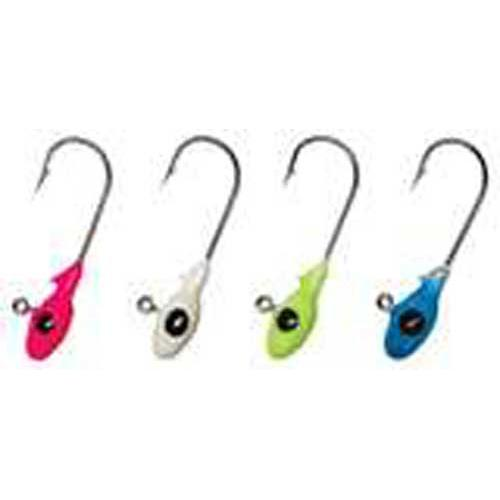 Gene Larew Mo Glo Jig Head 1-16oz 10ct Ghost Glo