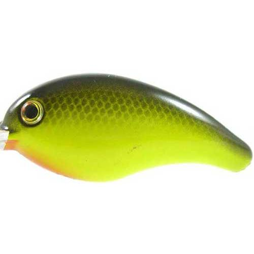 Strike King Bitsy Pond Minnow 3-32oz Black Back Chartreuse