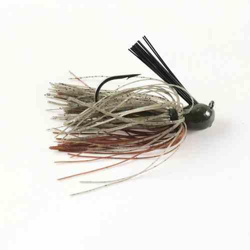 Missile Ike's Mini Flip Jig 3-8 Candy Grass