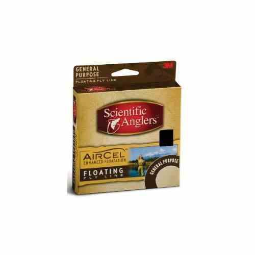 Scientific Anglers Air Cel Weight Forward Fly Line Yellow Size 8