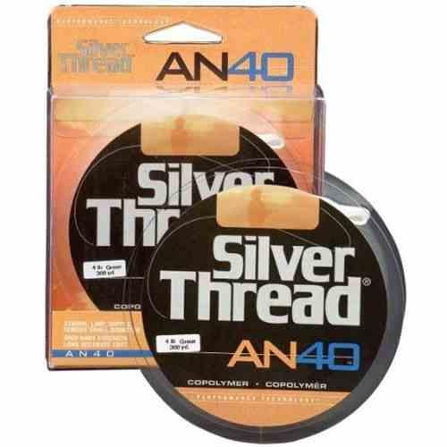 Silver Thread AN40 Silver 300yd 6lb