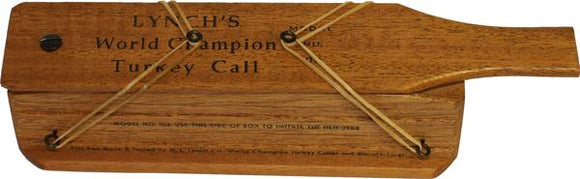 Lynch Champion Box Turkey Call