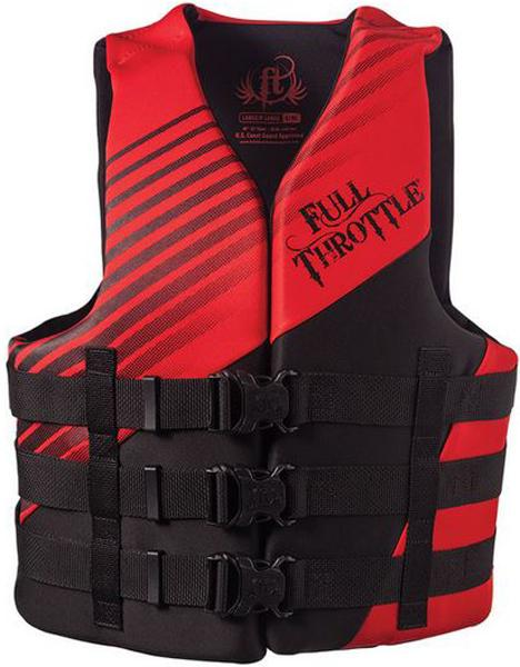 Abs Adult Rapid-dry Vest Red L-xl