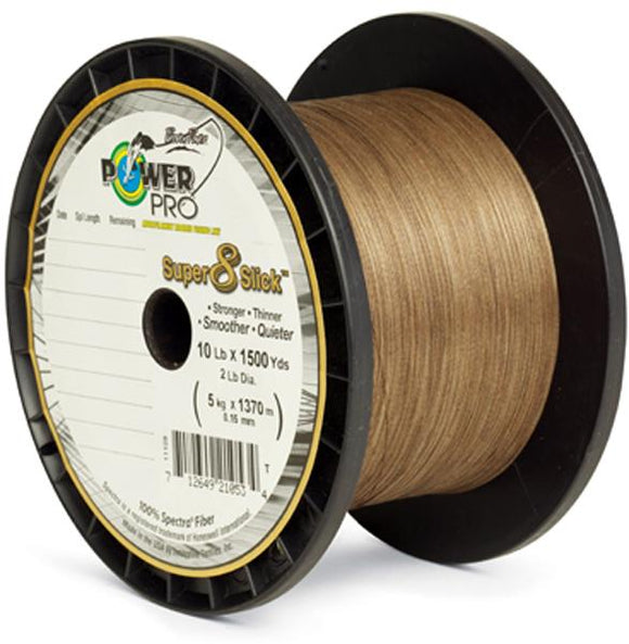 Pwr Pro Sup Slick 65# 300yd Timber