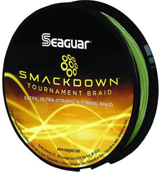 Seag Smackdown Braid Yel 65# 150yd