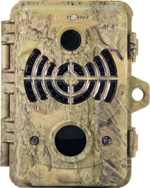 Spypt Cam 8mp 46 Blk Led Camo