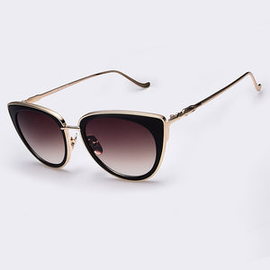 AOFLY Metal Frame Cat Eye Women Sunglasses