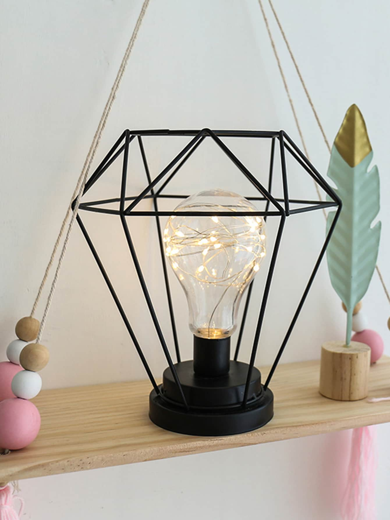 Geometric Decor Table Lamp