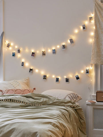 20pcs Bulb String Light & 20pcs Clip