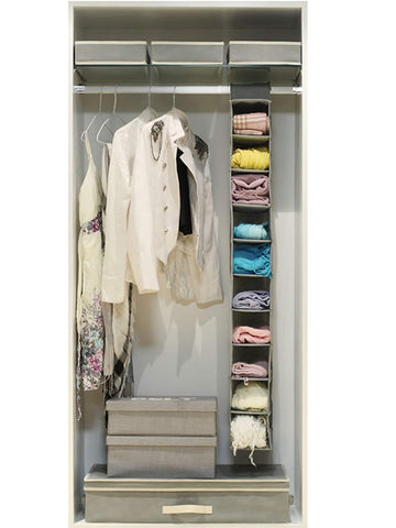 Multi-layer Wardrobe Hanging Storage Bag