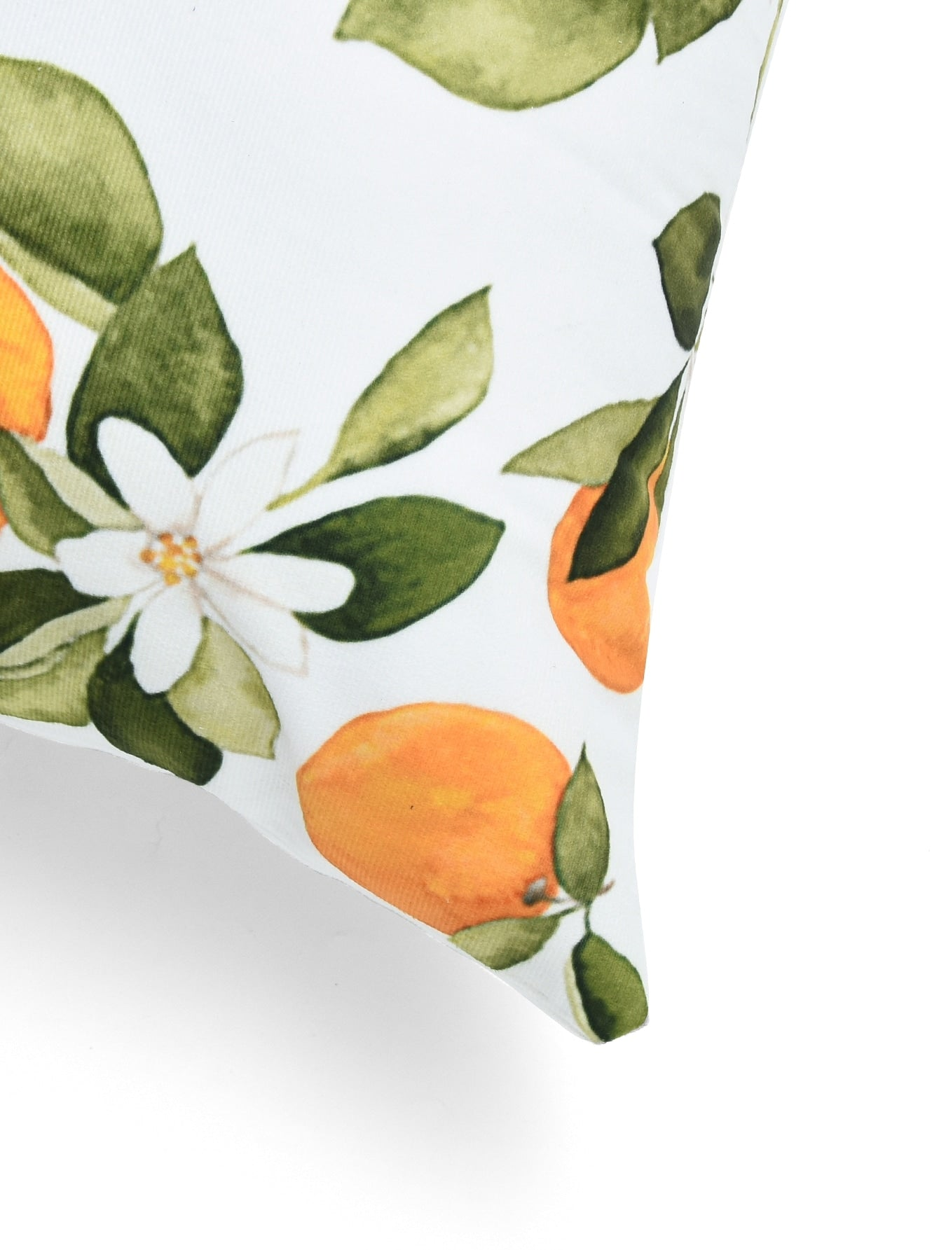 Orange Print Cushion Cover 1pc