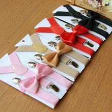 Boys Suspender and Bow Tie