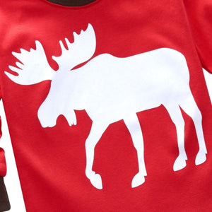 Moose Christmas Pajamas