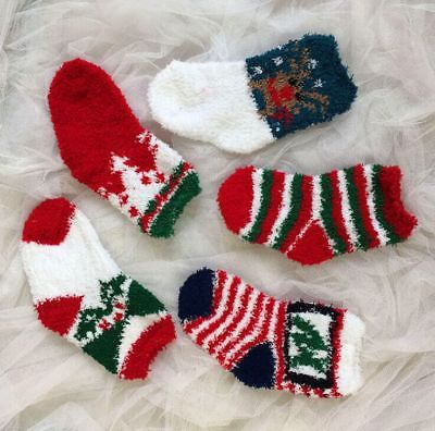 Christmas Unisex Childrens Socks 1-6
