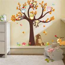 LemonBest Animal Tree DIY Walll Decal