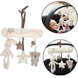 Hanging Toys Bunny Star Bear Pendant Crib Toy