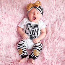 STRAIGHT OUTTA MOMMY Onesie