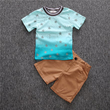 Boys 2 piece Star T-Shirt and Shorts Set