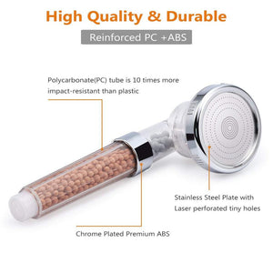 StoneStream™ 3 Mode High Pressure Shower Head