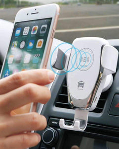Automatic clamping Wireless Car Charger Mount Wireless Chargers YiBao Trading Ltd Store