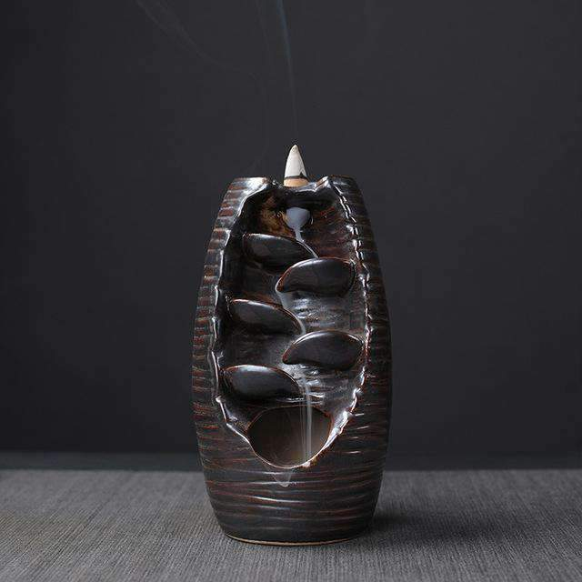 Mountain River Handicraft Incense Holder Selffix As picture 3