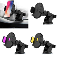 UNIVERSAL® Automatically Locking Windshield Phone Holder Selffix