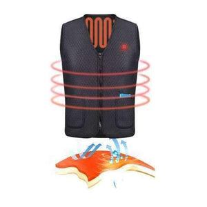 USB HEATED THERMAL VEST - HEATED JACKET Selffix