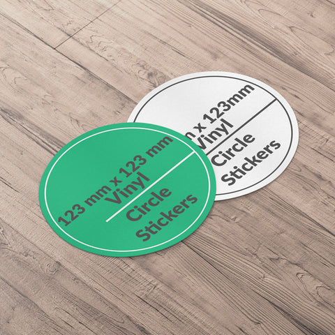 Circle Sticker 123x123mm