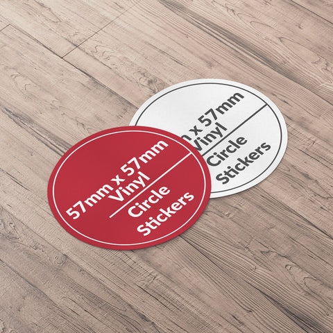 Circle Sticker 57x57mm