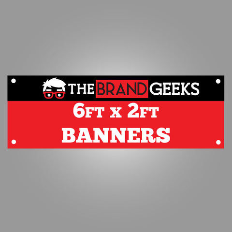 Cheap Vinyl Banners 6ft x 2ft Printing