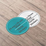 Circle Sticker 79x79mm