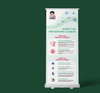 COVID19 - Pull Up Banner Branded