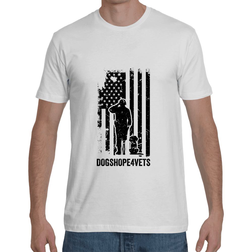New Design-Unisex Crew Neck T-Shirt - 2 to 5 days FREE Shipping - DogsHOPE4Vets