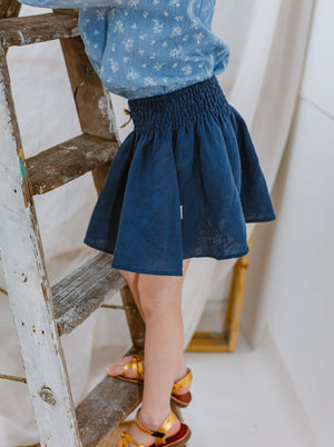 Morley Skirt, Night Blue