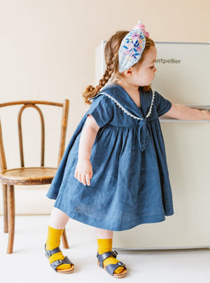 Cavendish Dress, Night Blue