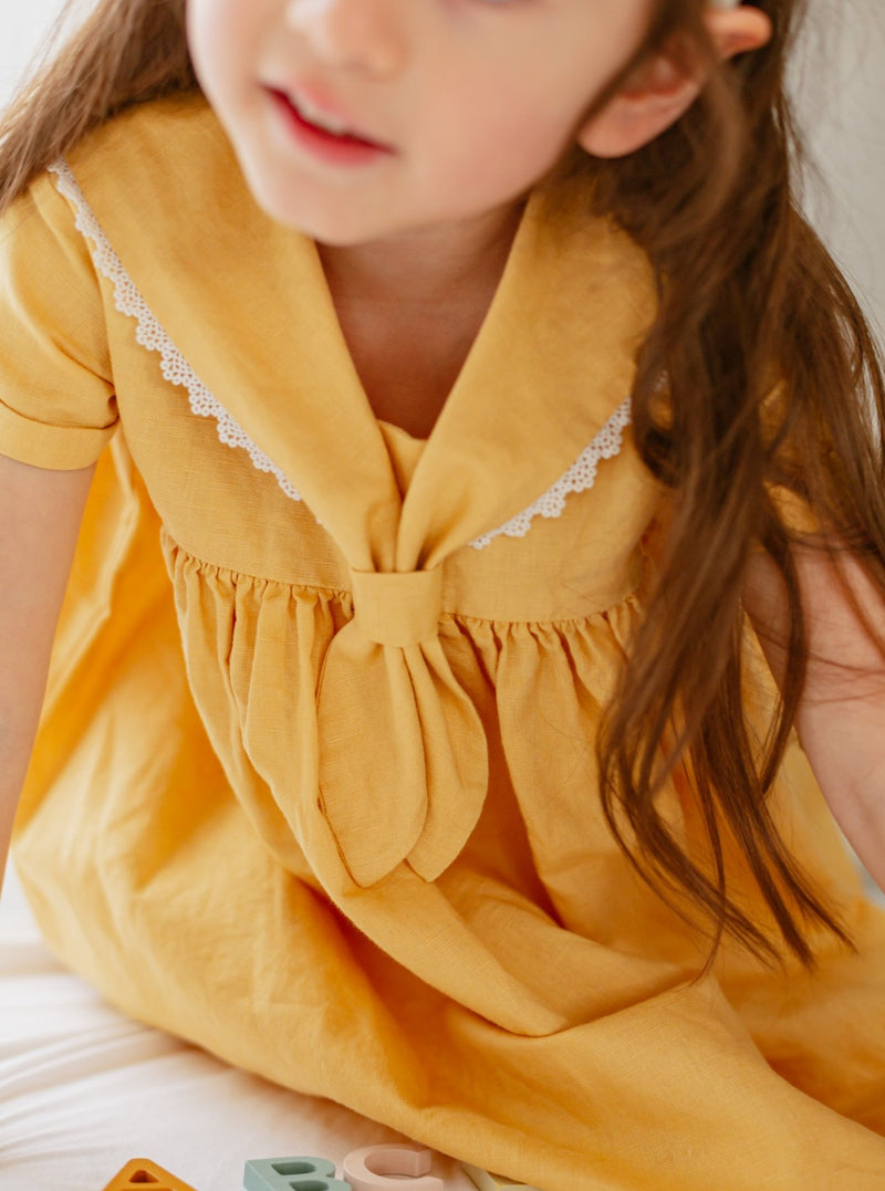 Cavendish Dress, Sunshine Yellow