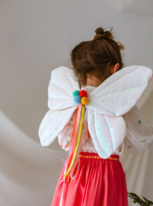 Tinker Bell Sequined Fairy Wings, Sparkling Rainbow