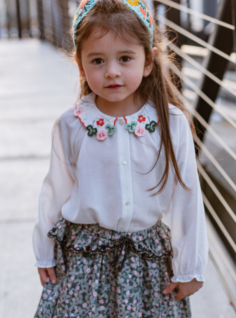 Ashlings Summer Blouse, Ice Cream