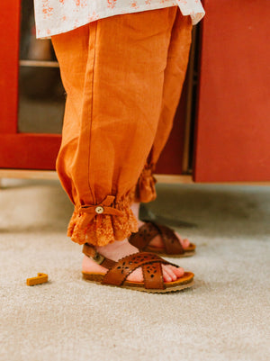 Winslow Trousers, Caramel