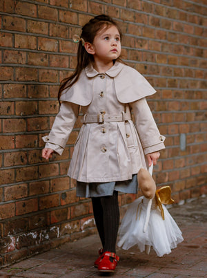 Pembroke Trench Coat, Oatmeal