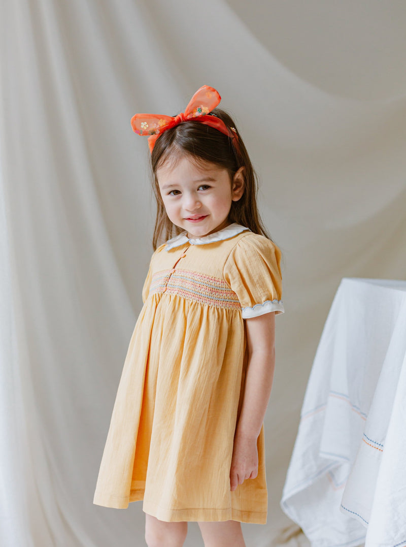 Eva Sparkling Headband, Dreaming Orange