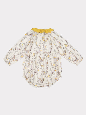 Betty Baby Romper, Modern Floral