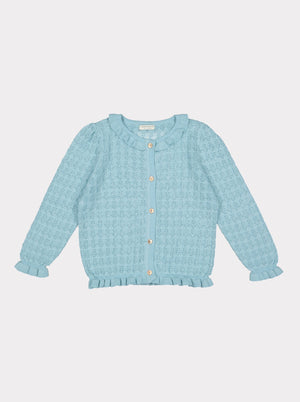Marylebone Cardigan, Brighton Blue